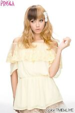 Japanese Brand 2-tone color bang wig D Brown/Blonde Harajuku style Cosplay Party