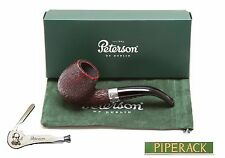 NEW Peterson Donegal Rocky Bent Saddle Briar Pipe (80s) Fishtail (Free Pipe Tool