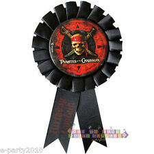 PIRATES OF THE CARIBBEAN GUEST OF HONOR RIBBON ~ Birthday Party Supplies Favors