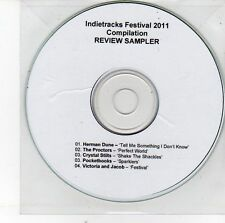 (EH62) Indietracks Festival 2011 sampler, 5 tracks - DJ CD