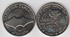 CAMEROON 1500 CFA 2006 Primitive currency, copper nickel Not legal tender coin