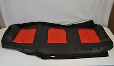 OEM Ford F150 SVT Raptor Vinyl Seat Back Cover 2nd Row Bench Rear Black Red