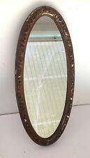 ESTATE ITEM-VINTAGE TURNER MFG WALL ACCESSORY OVAL WALL MIRROR #A789