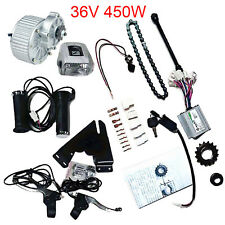 36V 450W Geared Brush Motor Cycling Electric Bike DIY Conversion Kit + Charger