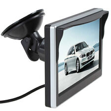 """Car Monitor 5.0"""" Sucked RCA Display HD TFT-LCD Video-in for Back view Camera"""