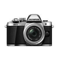 Olympus OM-D E-M10 Mark II Mirrorless Digital Camera w/ 14-42mm EZ Lens (Silver)