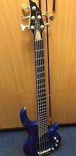 Tanglewood Curbow 5 String Base Guitar Blue
