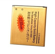 Battery 3030 mAh High Li-ion Battery for Samsung Galaxy S4 Gold I9500+StylusTouc