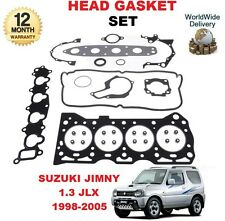 FOR SUZUKI JIMNY 1.3i JLX 16v G13BB 1998-2005  NEW CYLINDER HEAD GASKET SET