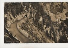 Wassen Mit Sustenstrasse Switzerland Vintage RP Postcard 363b
