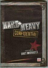 Hard + Heavy Confidential Featuring Bret Michaels (Slimline DVD, 2008) BRAND NEW