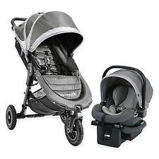 Baby Jogger 2016 City Mini GT Single Stroller Travel System – Steel Grey