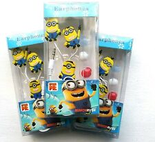 Minions Earbuds Universal 3.5mm Double In-Ear For Tablets Cell Phones MP3 Player