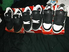 2009 ES TXL RODRIGO SKATEBOARD SHOES SZE 7 RARE STASH POCKET + 2 BONUS PAIRS ES