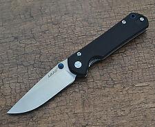 Sanrenmu Land 910 Plus Pocket EDC Folding Knife 12C27 Blade G10 Handle