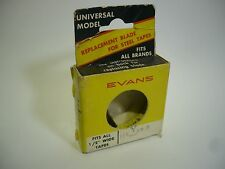 Vintage Evans Replacement Blade for Steel Tape Measure - 110YRME