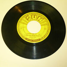 COUNTRY 45RPM EP RECORD - JOHNNY CASH - SUN EPA 112 - NO COVER