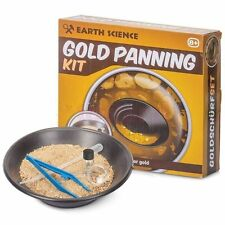 GOLD MINING PANNING KIT PROSPECTOR SET KIDS TOY BIRTHDAY PRESENT DISCOVERY TOY