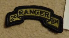 ARMY PATCH, 2ND RANGER BATTALION ,MULTI-CAM,SCORPION, WITH VELCR