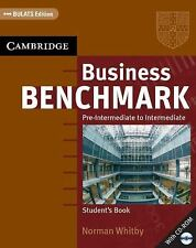 Business Benchmark Pre-Intermediate to Intermediate Student's Book with CD ROM B