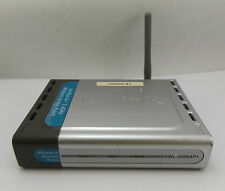 D-Link DWL-2000AP+ Airplus G+ 2.4GHz Wireless Access Point No AC Adapter