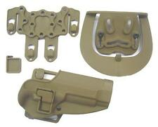 FONDINA SOFTAIR RIGIDA SERPA CQC PLUS M92 TAN  2214 T airsoft holster m9