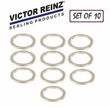 NEW Audi S4 A4 Q5 VW Touareg CC REINZ Set of 10 Oil Drain Plug Gaskets N0138157