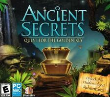 Ancient Secrets: Quest For The Golden Key - Hidden Object Adventure PC NEW