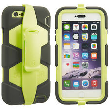Griffin Survivor Tutti Terrain Case Cover per Apple iPhone 6 + / 6S + Plus Verde Oliva