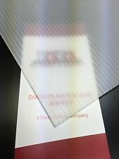 4mm Clear 24 x 36 (4 pack) Corrugated Plastic Coroplast Sheets Sign