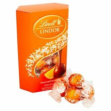 Lindt Lindor Truffles Orange Milk Chocolate 200g - Sold Worldwide From UK