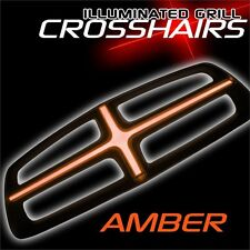 2011-2014 Dodge Charger ORACLE EL Illuminated Grill Crosshairs Insert-Amber