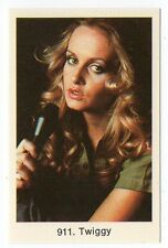 1970s Swedish Pop Star Card #911 Swinging sixties model actress singer Twiggy