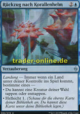 2x Rückzug nach Korallenhelm (Retreat to Coralhelm) Battle for Zendikar Magic