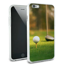 Golf Ball Club - Golfing Slim Hybrid Rubber Bumper Case for iPhone 6 6s Plus