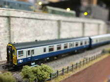 372-677 GRAHAM FARISH CLASS 411 4 CAR EMU DCC SOUND BR BLUE & GREY
