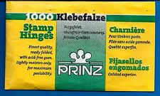 Prinz Stamp ReadyFolded 1000 Hinges GREAT PRICE
