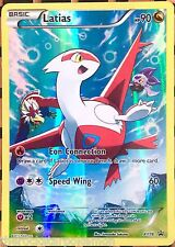 POKEMON TCG~LATIAS XY78 FULL ART BLACK STAR PROMO~LEGENDARY COLLECTION BOX~MINT!