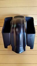 "HARLEY DAVIDSON 4""EXTENDED SADDLEBAGS TOURING BAGGER AND REAR FENDER,NO LIDS"