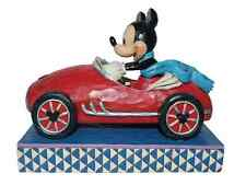 Disney Traditions Roadster Mickey Mouse Figurine Ornament 12.5cm 4027949 New