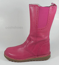 Bo-bell Girls Puppy 22 Pink Leather Zip Boots UK 7 EU 24 US 7.5 RRP £62.00
