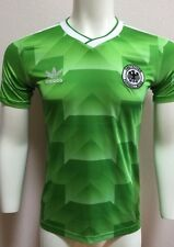 Germania ovest 1990 AWAY SHIRT SMALL DEUTSCHLAND World Cup straordinaria qualità