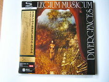 "COLLEGIUM MUSICUM  ""Divergences""  Japan mini LP SHM 2CD"