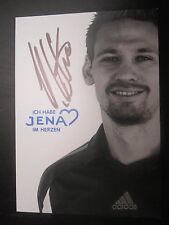 2713 original signierte Autogrammkarte FC Carl Zeiss Jena 09-10 Stefan Kühne