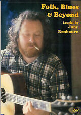 Learn Folk Blues Guitar & and Beyond John Renbourn DVD