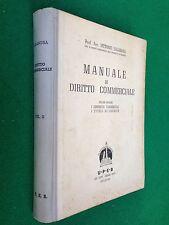Vittorio SALANDRA - MANUALE DI DIRITTO COMMERCIALE , Ed UPEB (1948)