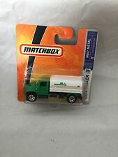 MATCHBOX MINI TANKER L0391 NEW NEU OVP SHORT CARD