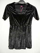 BNWT TG Black Velvety Top Size 10 - Ideal for Christmas Parties