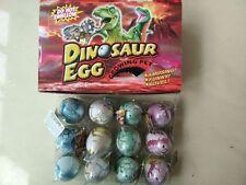 """1 piezas grande Creciente Dino Huevo 2.5"""" Dinosaurio Add Agua Juguetes Regalo"""