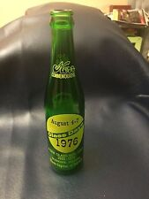 KERR COMMEMORATIVE 1976 GLASS DAYS BOTTLE GREEN ACL JAR DUNKIRK INDIANA IN a